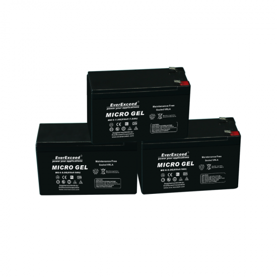 Batterie gel 12v 7ah